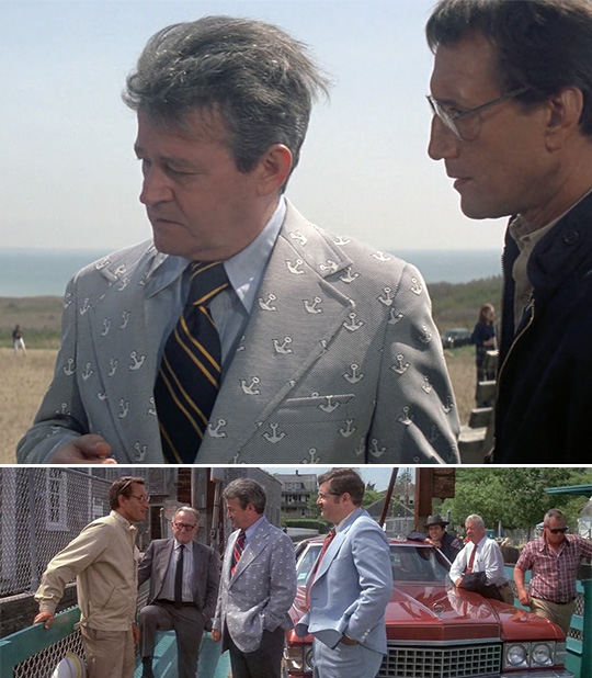 mayor vaughn jaws style inspiration