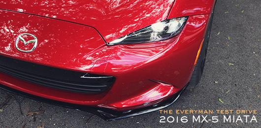 The Everyman Test Drive: 2016 MX-5 Miata