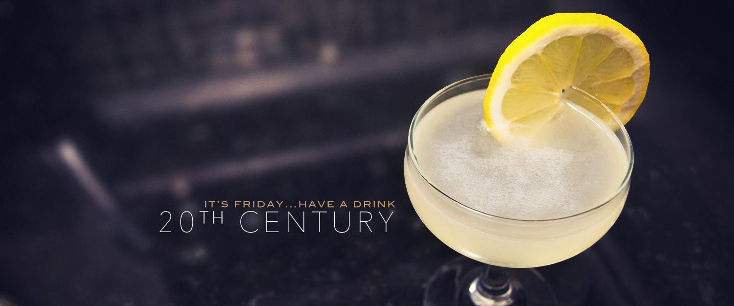 The Twentieth Century Cocktail Recipe: A Slightly Tropical Gin Cocktail
