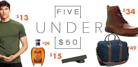 5 Under $50 – Labor Day