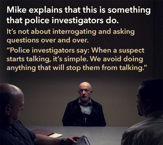 Article quote inset - Mike explains that this is something that police investigators do