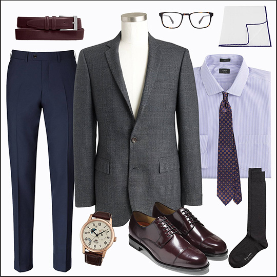 The Gray Sportcoat - 5 Looks: Business Dress