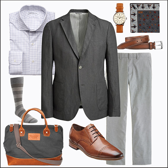 Style Essentials The Gray Sportcoat For All Seasons And