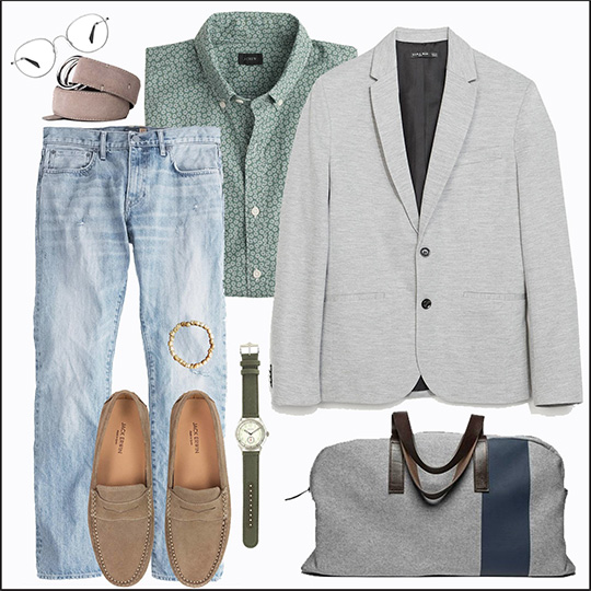 The Gray Sportcoat - 5 Looks: Smart Casual