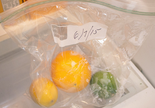 how to store oranges and lemons