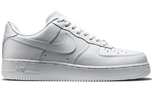 White Air Force One Sneaker