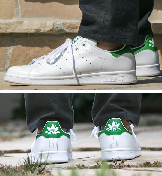 Stan Smith with gray jeans
