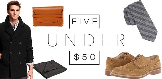 5 Under $50 – 11/4/15