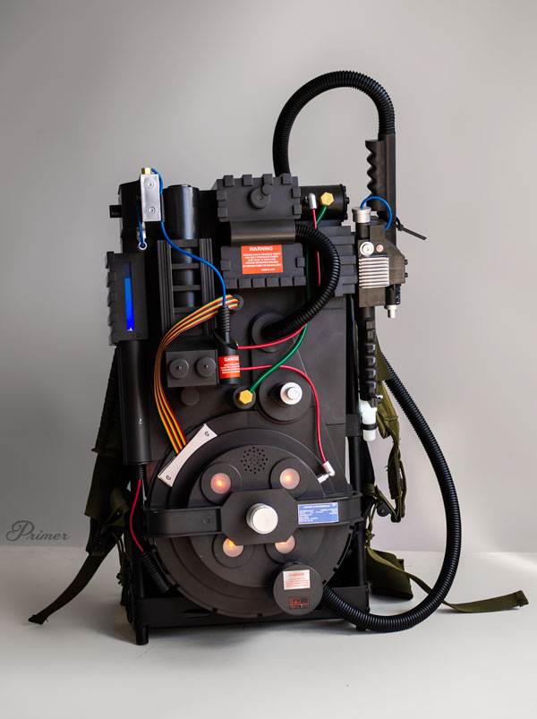 spirit halloween proton pack on alice frame
