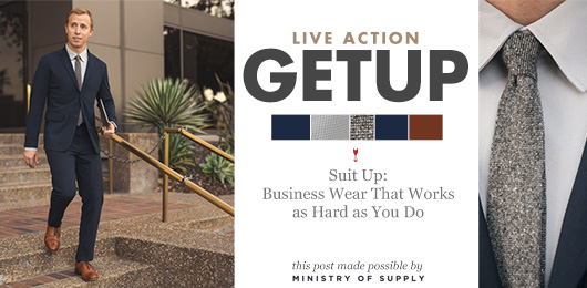 Live Action Getup: Suit Up – Business Wear That Works as Hard as You Do