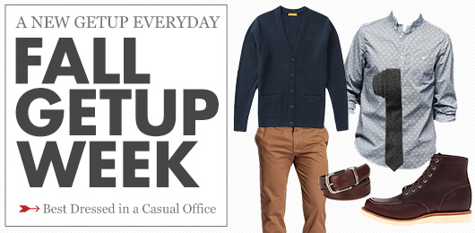 The Getup: Best Dressed in a Casual Office