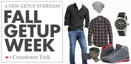 Fall Getup Week: Crosstown Trek