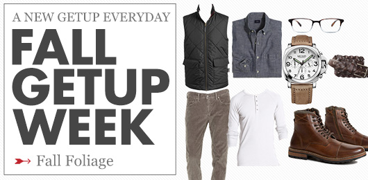 Fall Getup Week: Fall Foliage
