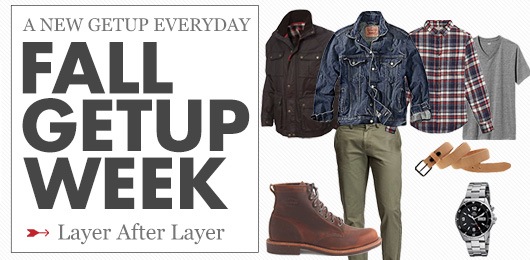 Fall Getup Week: Layers After Layers