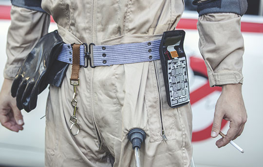 DIY Ghostbusters Uniform Belt