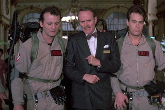 Bill Murray, Michael Ensign, Dan Aykroyd in uniform