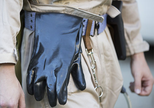 Ghostbusters Costume Gloves