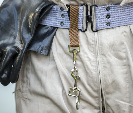 Ghostbusters belt keyfobs