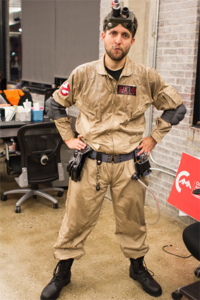 Easy Accurate Ghostbusters Costume 80 From Amazon