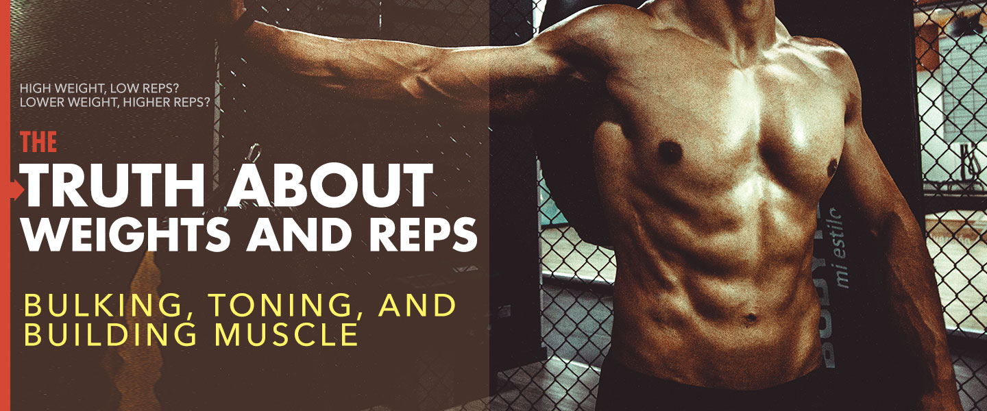 The Truth About Weights and Reps for Bulking, Toning, and Building Muscle