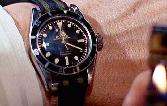 James Bond Rolex Dive Watch Nato Strap