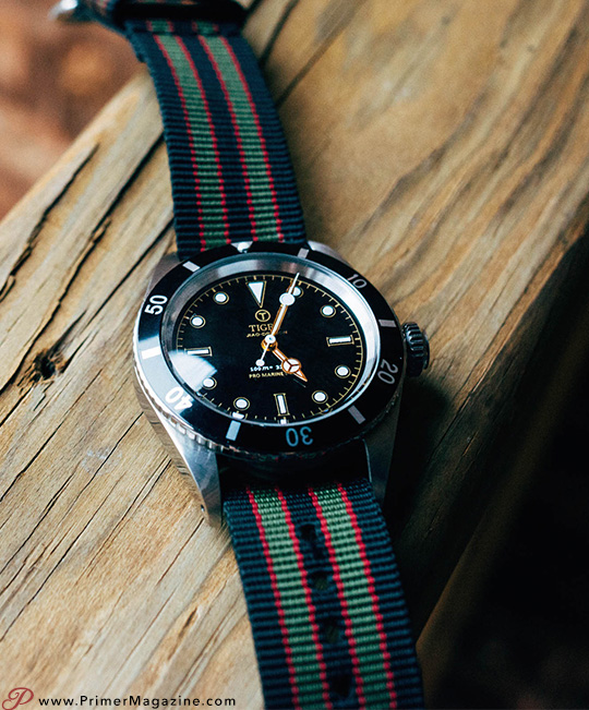 James Bond NATO strap watch