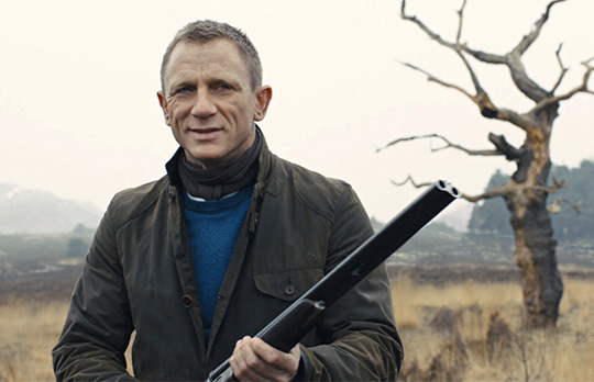 James Bond Style Skyfall Barbour Jacket
