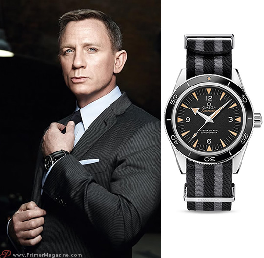 Spectre James Bond Watch - Omega Watch with Nato strap