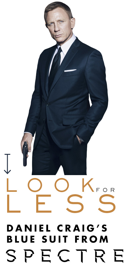 Daniel Craig's Blue Suit from Spectre – Look for Less