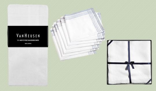 3 handkerchiefs