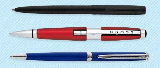 3 pens