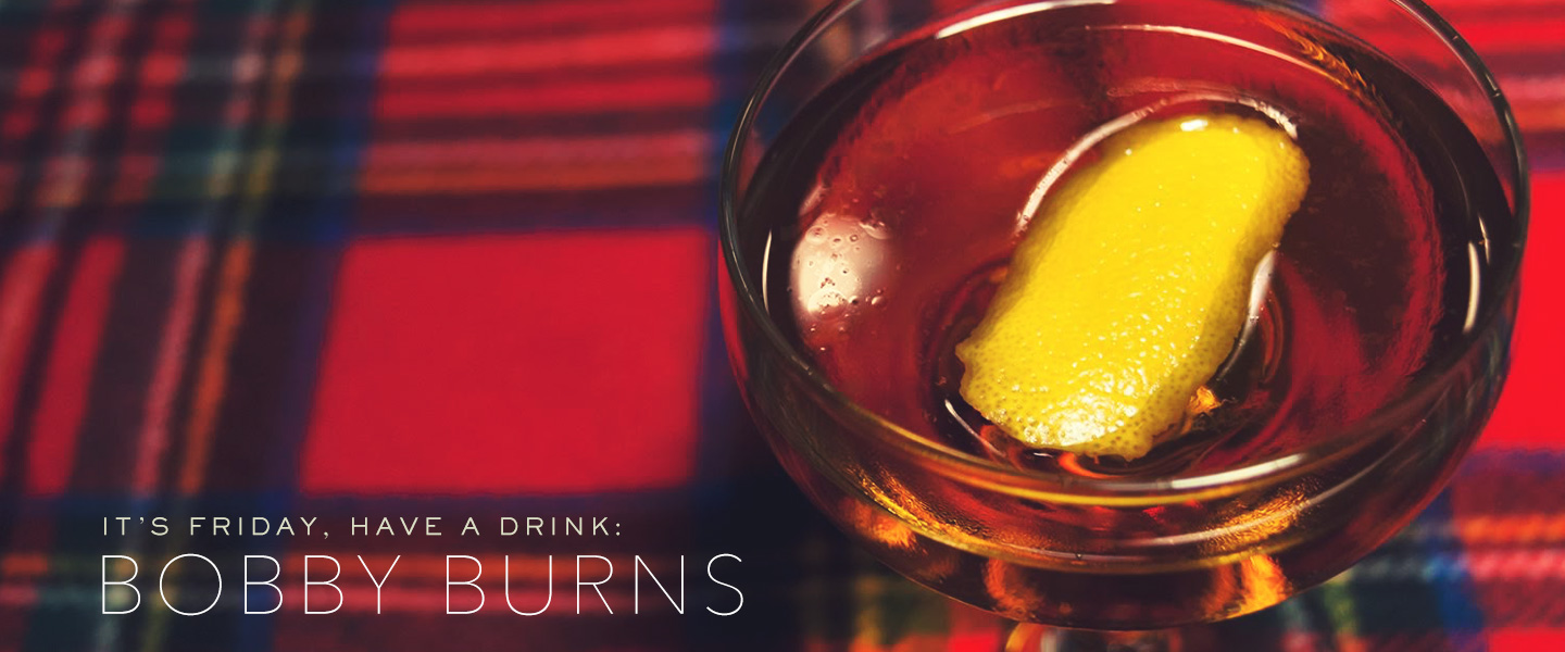 The Bobby Burns Cocktail Recipe: A Straightforward Scotch Cocktail Enhanced With Earthy Flavors.