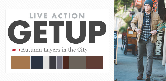 Live Action Getup: Autumn Layers in the City