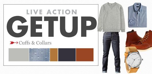 Live Action Getup: Cuffs & Collars + 10% off MVMT Watches