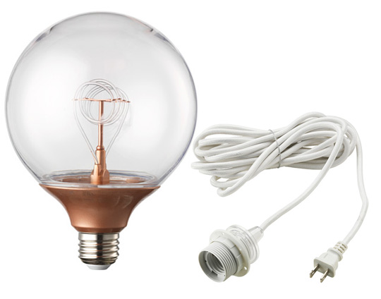 IKEA Lighting bulb and wire