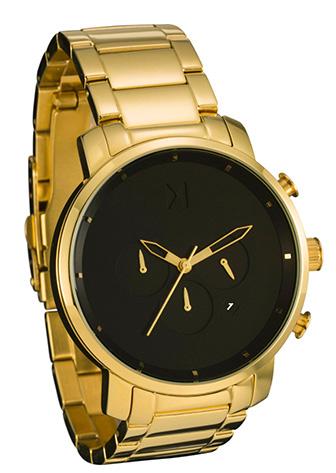 Gold MVMT watch chrono