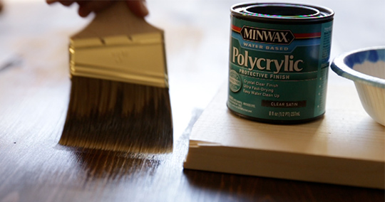 How to apply polyurethane