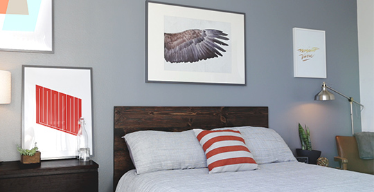 make this diy wood headboard for only   primer, Headboard designs