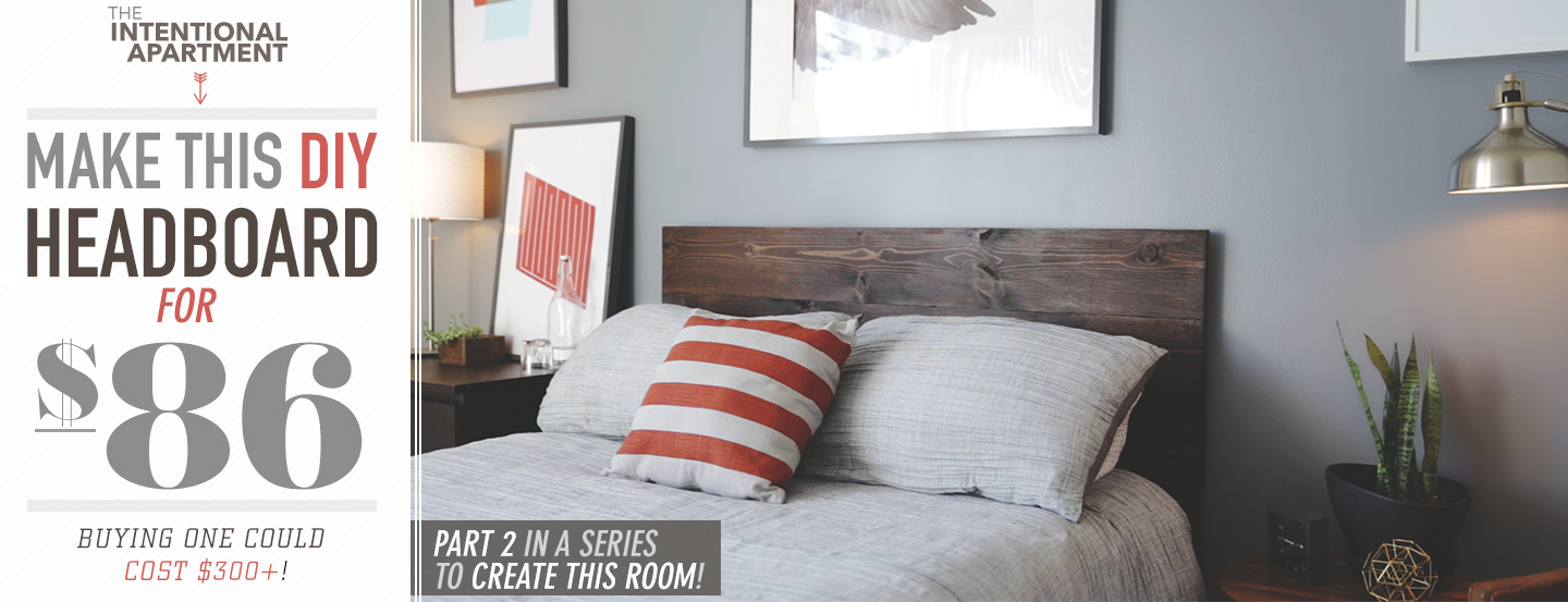 Marvelous Make This DIY Wood Headboard for Only