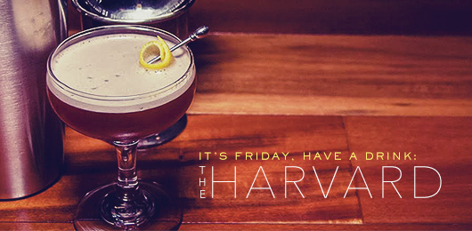 The Harvard Cocktail Recipe: A Manhattan Variant With An Accent Of Lemon
