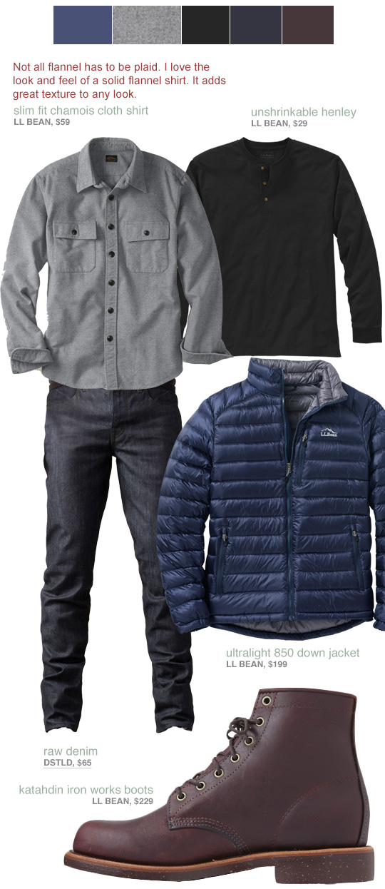 Winter style for guys