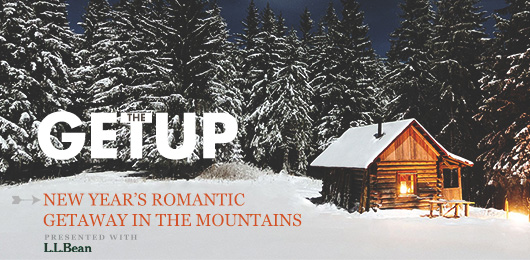 The Getup: New Year's Romantic Getaway in the Mountains