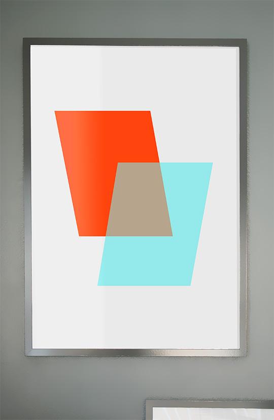 Free abstract art printable