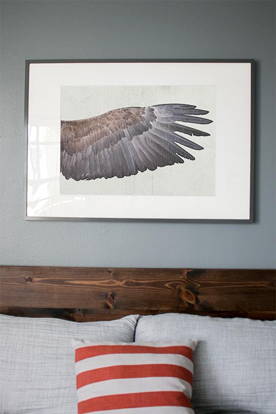 Free art print wing