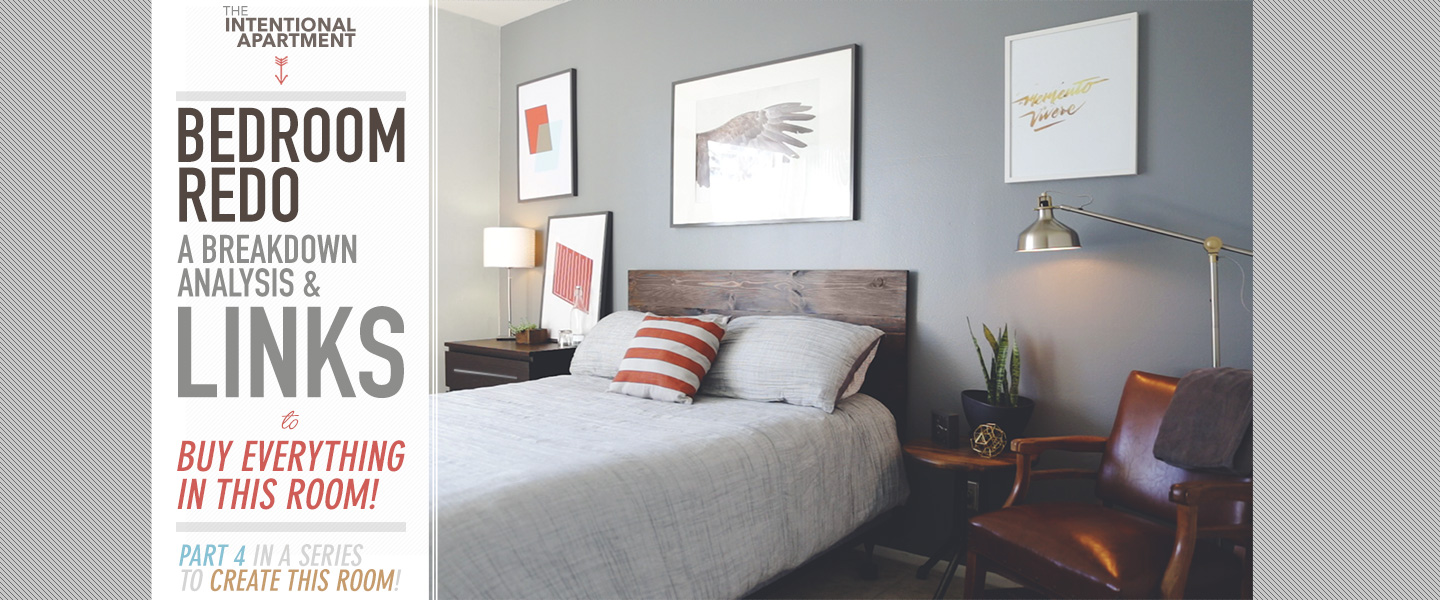 Bedroom Redo: A Breakdown Analysis and Links to Buy Everything in This Room!