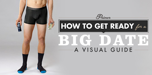 How to Get Ready for a Big Date – A Visual Guide