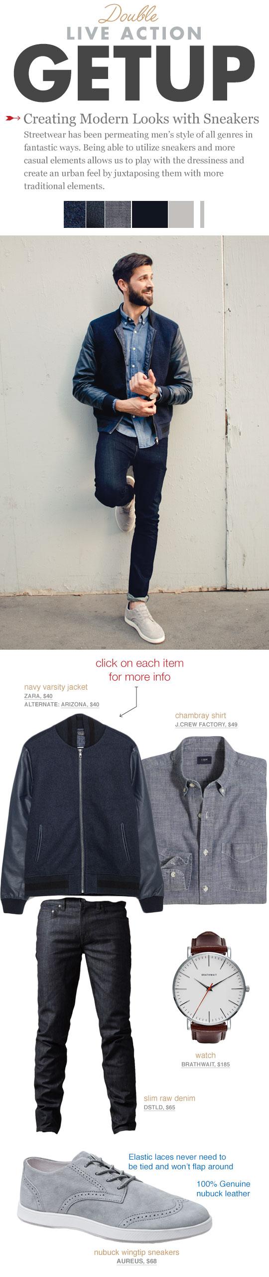 Men's Style - Aureus Sneakers