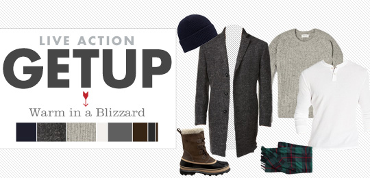 Warm in a Blizzard Live Action Getup
