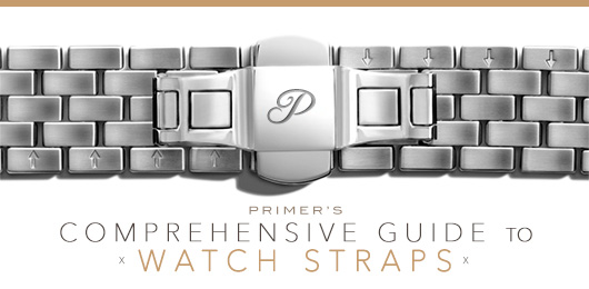 A close up of a watch strap - comprehensive guide to watch straps