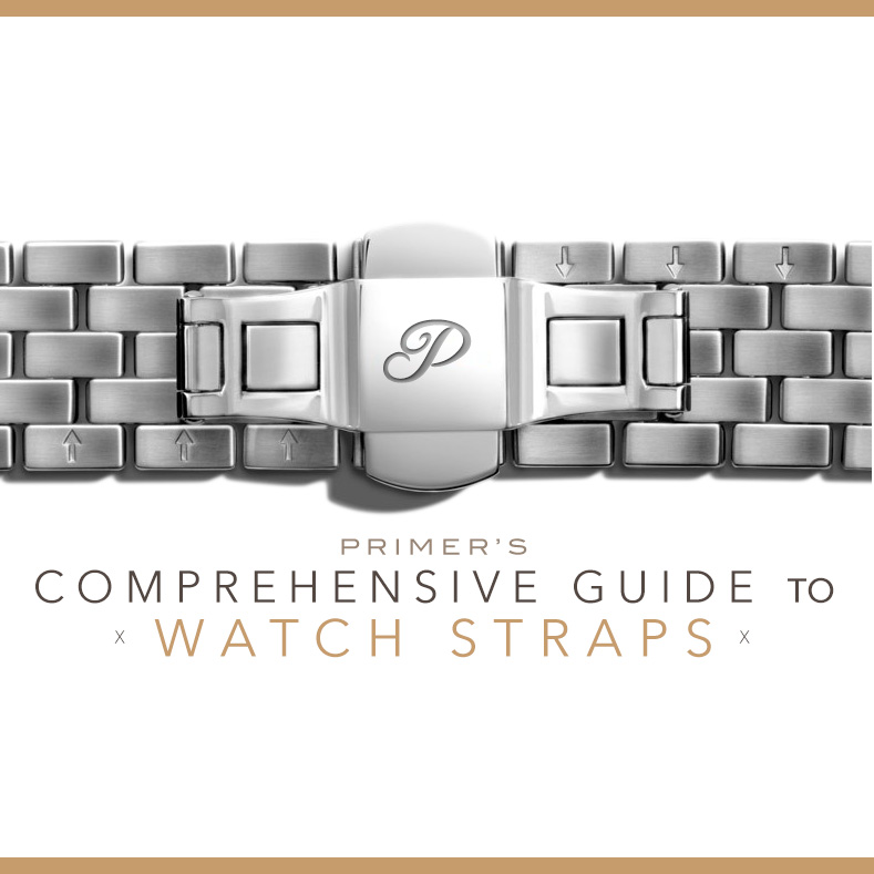 Guide to watch straps